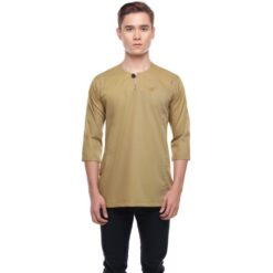 Kurta Falique DIJON YELLOW 1 Rijal & Co