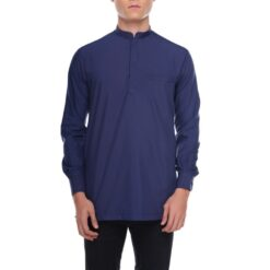 Kurta Khalique MIDNIGHT BLUE 1 Rijal & Co