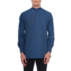 Kurta Khalique OXFORD BLUE 1 Rijal & Co